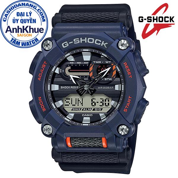 Đồng hồ nam dây nhựa Casio G-Shock chính hãng Anh Khuê GA-900-2ADR (49mm)