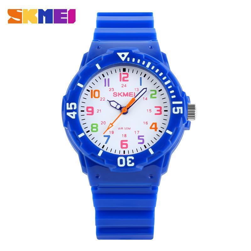 Đồng hồ trẻ em Skmei 1043 kiểu dáng xinh xinh đáng yêu bán chạy