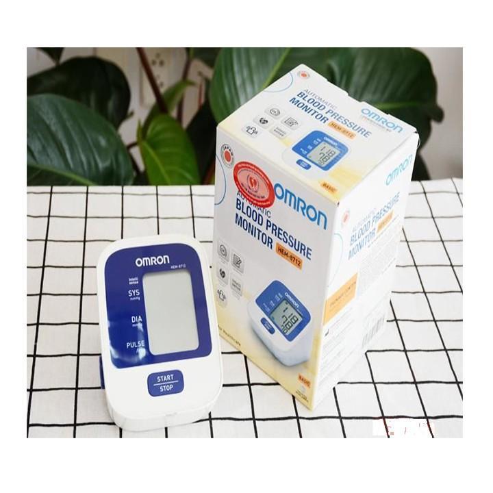 máy đo huyết áp Bắp Tay Omron Hem 8712 + Bộ Đổi nguồn bán chạy