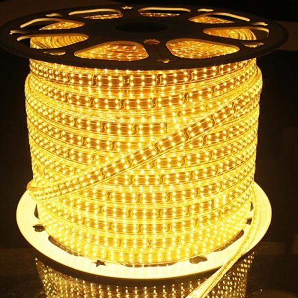 Bảng giá LED Dây Đôi 2835 Lõi Đồng Cao Cấp, Ánh Sáng Vàng