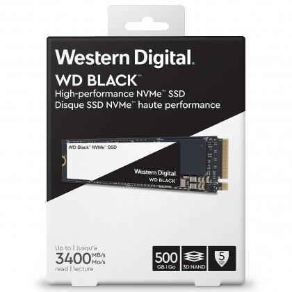 Ổ cứng SSD WD Western Digital Black 500GB NVMe PCIe M.2 2280