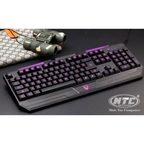 [SALE OFF] Bàn phím chuyên Game Motospeed K60L - Led 3 màu tùy chỉnh (Đen)