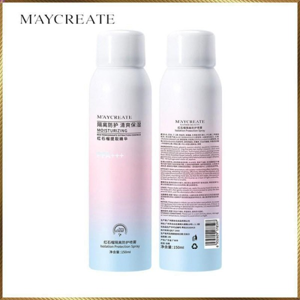Xịt chống nắng Maycreate HT2