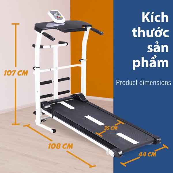 (Có video) BG -TẾT ĐẾN XUÂN SANG LỘC ĐẦY VƯỜN -  Máy chạy bộ cơ đa năng mẫu mới Treadmill SH - S306 5 in 1