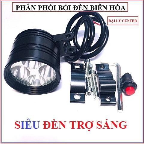 [ Tặng Công Tắc ] Đèn Trợ Sáng , đèn Pha Led L4 Ngắn Siêu Sáng By Phụ Tùng Center88.