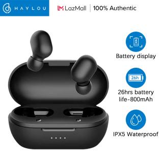 Tai Nghe Không Dây Haylou GT1 Pro Bluetooth 5.0 TWS Pin Lớn Điều Khiển Cảm Ứng Đèn LED Hiển Thị Mức Pin Phiên Bản Nâng Cấp Có Micro Kép Giảm Tiếng Ồn Kèm Hộp Sạc thumbnail