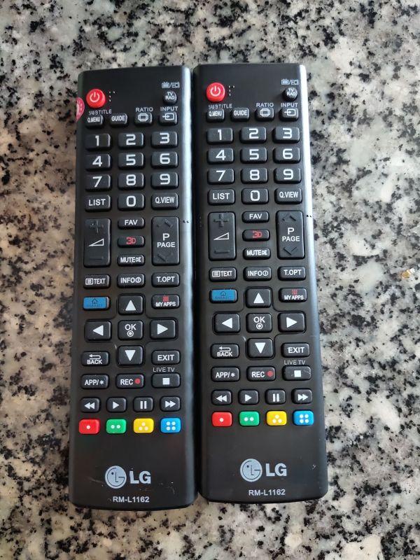 Bảng giá Remote điều khiển tivi LG RM-L1162