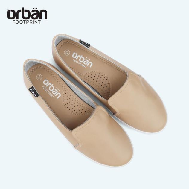 Giày slipon cao cấp Urban UL1930 nâu giá rẻ