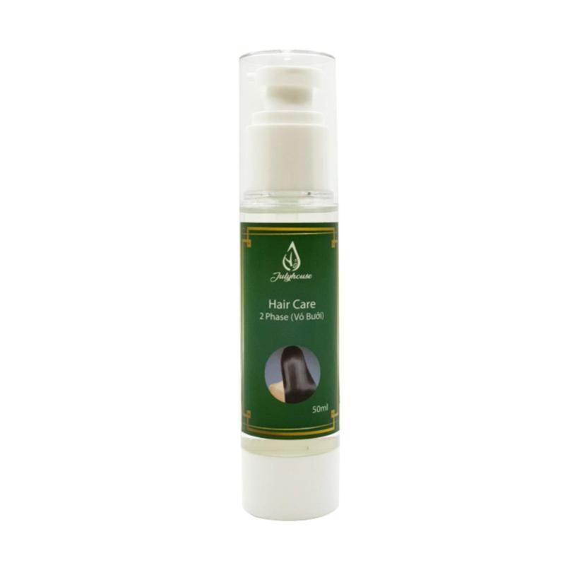 Serum dưỡng tóc 2 lớp dầu Mắc Ca và tinh dầu Vỏ Bưởi Julyhouse 50ml cao cấp