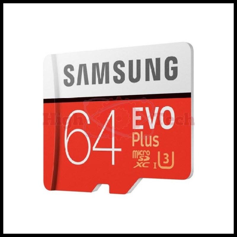 Thẻ nhớ microSDXC Samsung Evo Plus 64GB U3 upto 100MB-s + Adapter tặng đèn LED USB