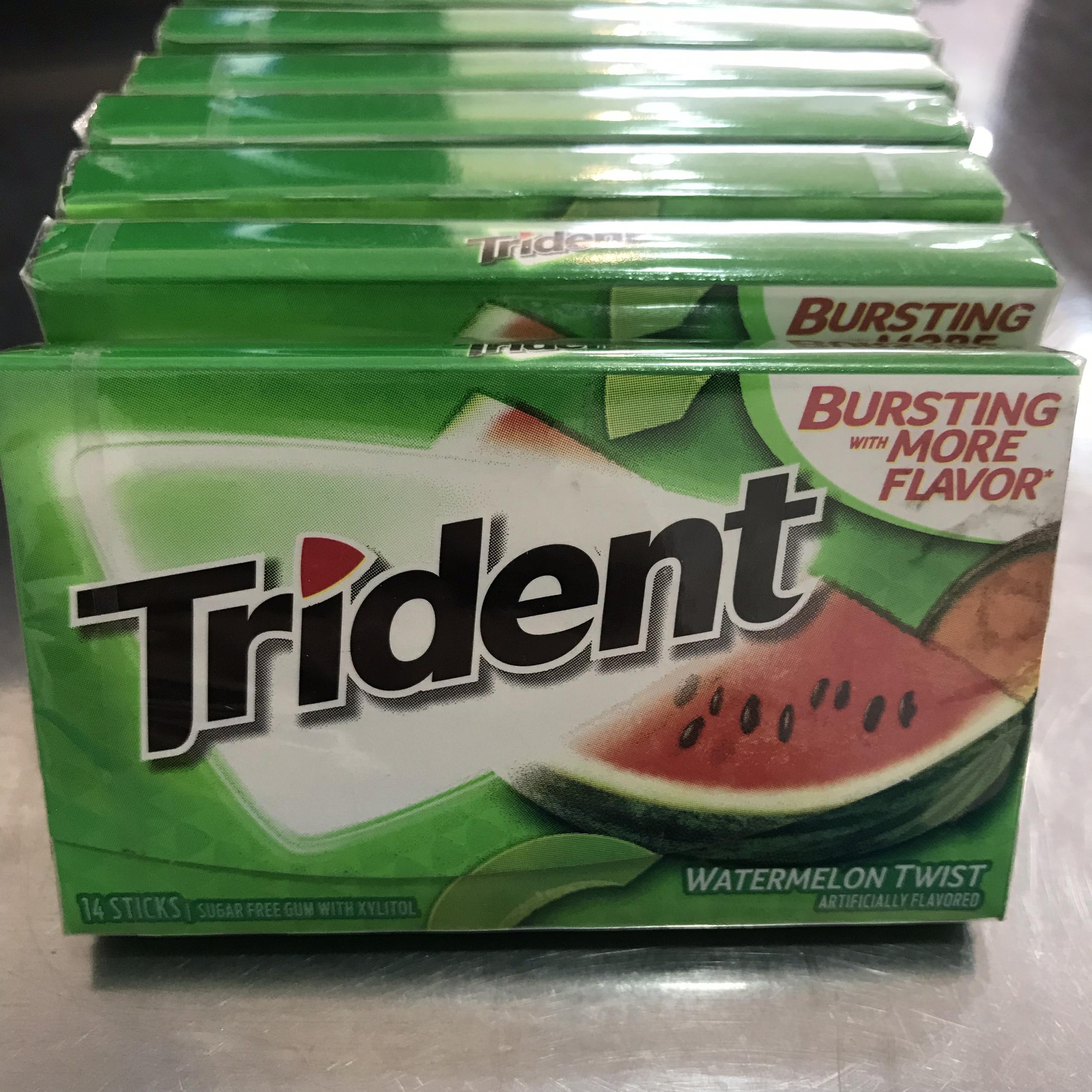 KẸO SINGUM  (Chewing gum) Trident USA - COMBO 3 HỘP X 14 STICKS