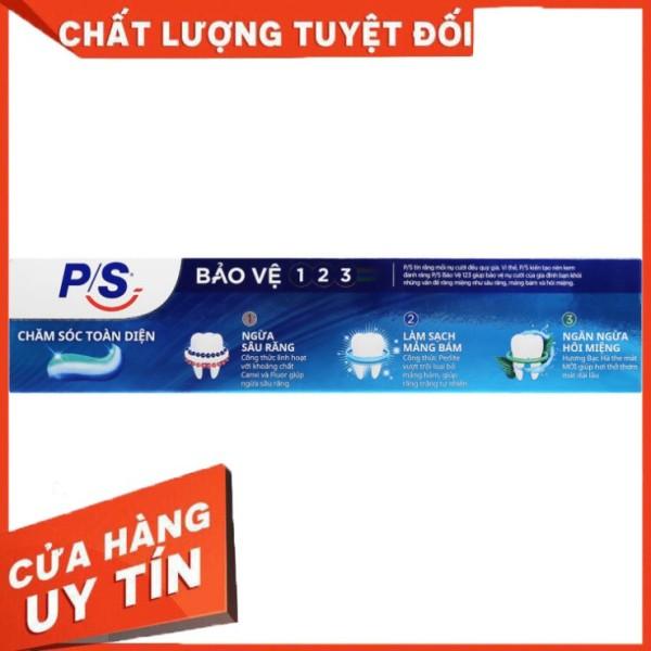 Hàng có sẵn Kem đánh răng P/S bảo vệ 123 chăm sóc toàn diện giá rẻ