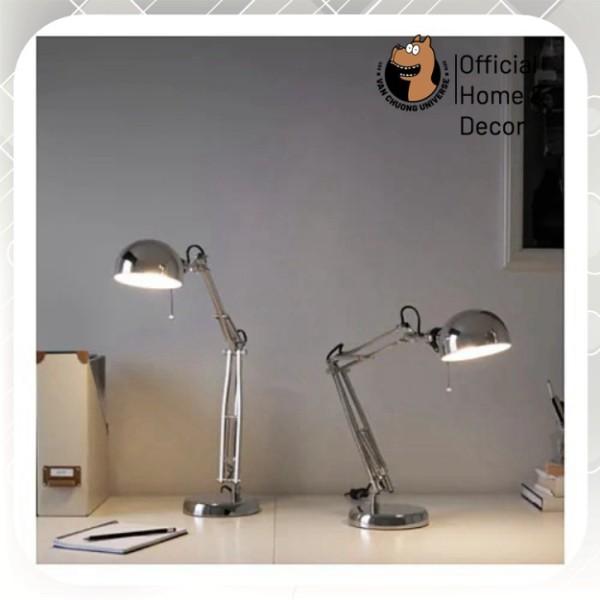 Đèn bàn học chống cận chính hãng IKEA đèn bàn làm việc đèn học cao cấp điều chỉnh đc cao thấp để có ánh sáng phù hợp
