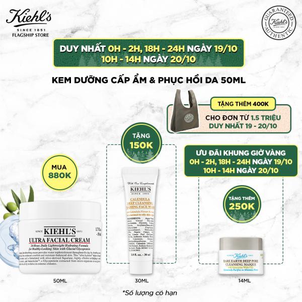 Kem dưỡng ẩm Kiehls Ultra Facial Cream 50ml