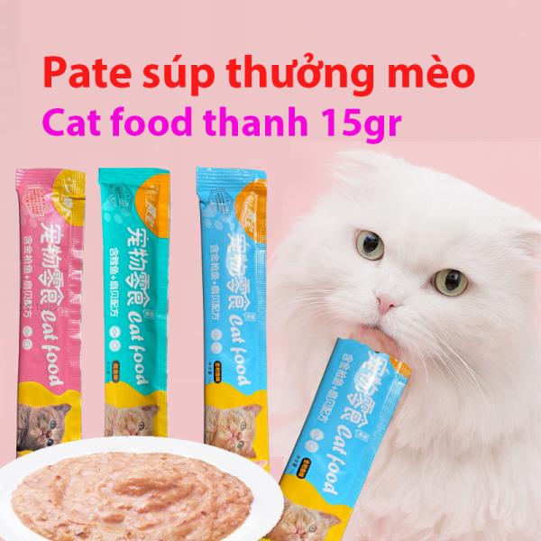 [HCM]Súp thưởng (Pet Snack) cho mèo 15gr - 3 hương vị