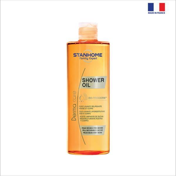 SHOWER OIL  - Dầu tắm cho da khô, nhạy cảm Stanhome 400ml