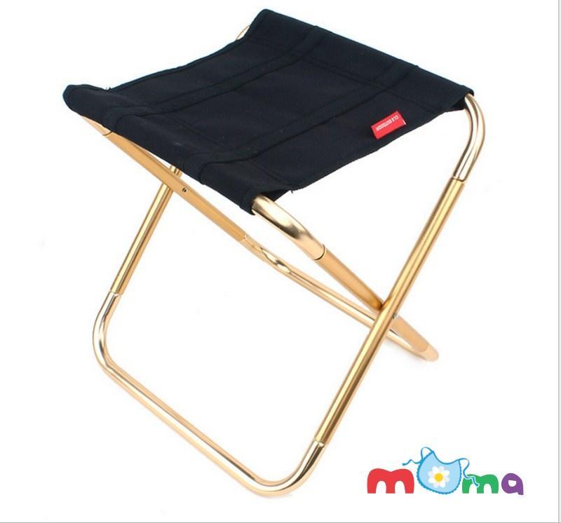 Ghế đẩu hợp kim Aluminum mini, ghế ngồi nghỉ gấp xếp kèm túi đựng tiện lợi dễ dàng mang du lịch, đi cắm trại, đi chơi, câu cá,để trên xe hơi, ô tô_HL085