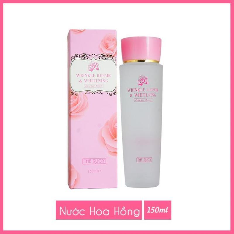 Nước hoa hồng The Rucy Wrinkle Repair & Whitening  Essence Toner 150ml LKshop cao cấp