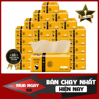Thùng giấy ăn gấu trúc SIPAO (27 gói, gói 300 tờ), Một thùng giấy ăn gấu trúc Sipiao, Thùng 27 gói giấy ăn gấu trúc Sipiao Siêu Mịn thumbnail