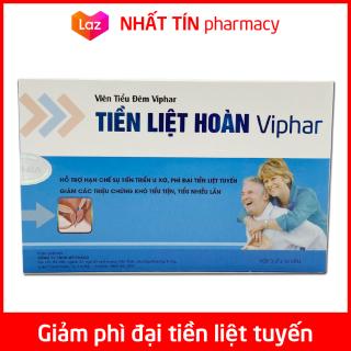 TIỀN LIỆT HOÀN VIPHAR giảm u xơ, phì đại tiền liệt tuyến, giảm khó tiểu, tiểu đêm nhiều lần - Hộp 30 viên thumbnail