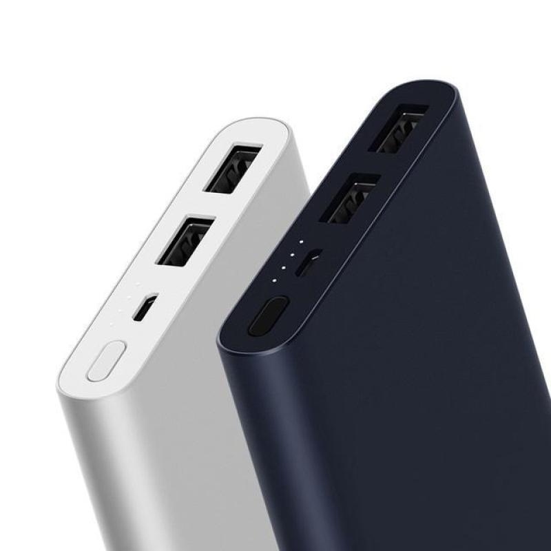Giá (Tặng cáp sạc 28k)Pin sạc dự phòng Xiaoml 10.000 cao cấp sạc siêu nhanh 2 cỗng 2.1a