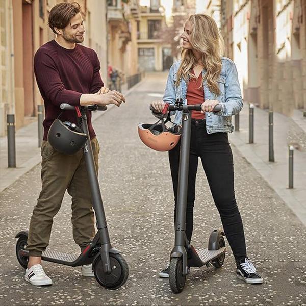 Mua Xe scooter điện Ninebot E22 gấp gọn công suất lớn có bluetooth, đèn led, kết nối qua add