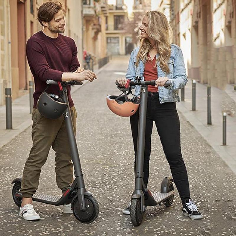 Giá bán Xe scooter điện Ninebot E22 gấp gọn công suất lớn có bluetooth, đèn led, kết nối qua add