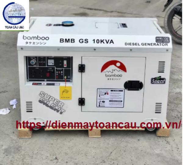 Máy phát điện chạy dầu 10kva Bamboo BMB GS10KVA