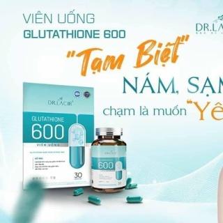 Viên uống glutathione 600 mg chai 30 viên thumbnail