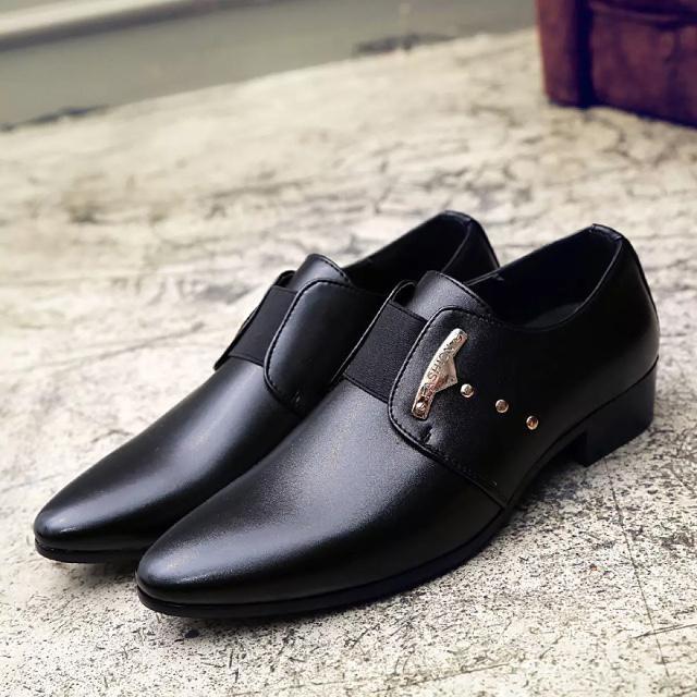 Giày tây nam thời trang cực hot giá lại rẻ