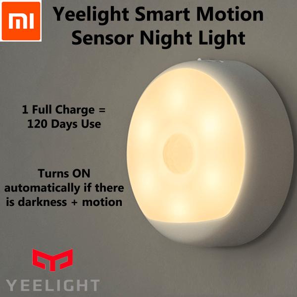 Đèn cảm ứng ban đêm Xiaomi Yeelight Rechargeable Night Light (Pin Sạc) - Hàng Chính Hãng