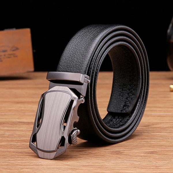 Thắt Lưng Dây Nịt Nam khóa tự động Ksport Men Da cao cấp - Bảo hành 12 tháng - Kèm hộp quà túi xách sang trọng