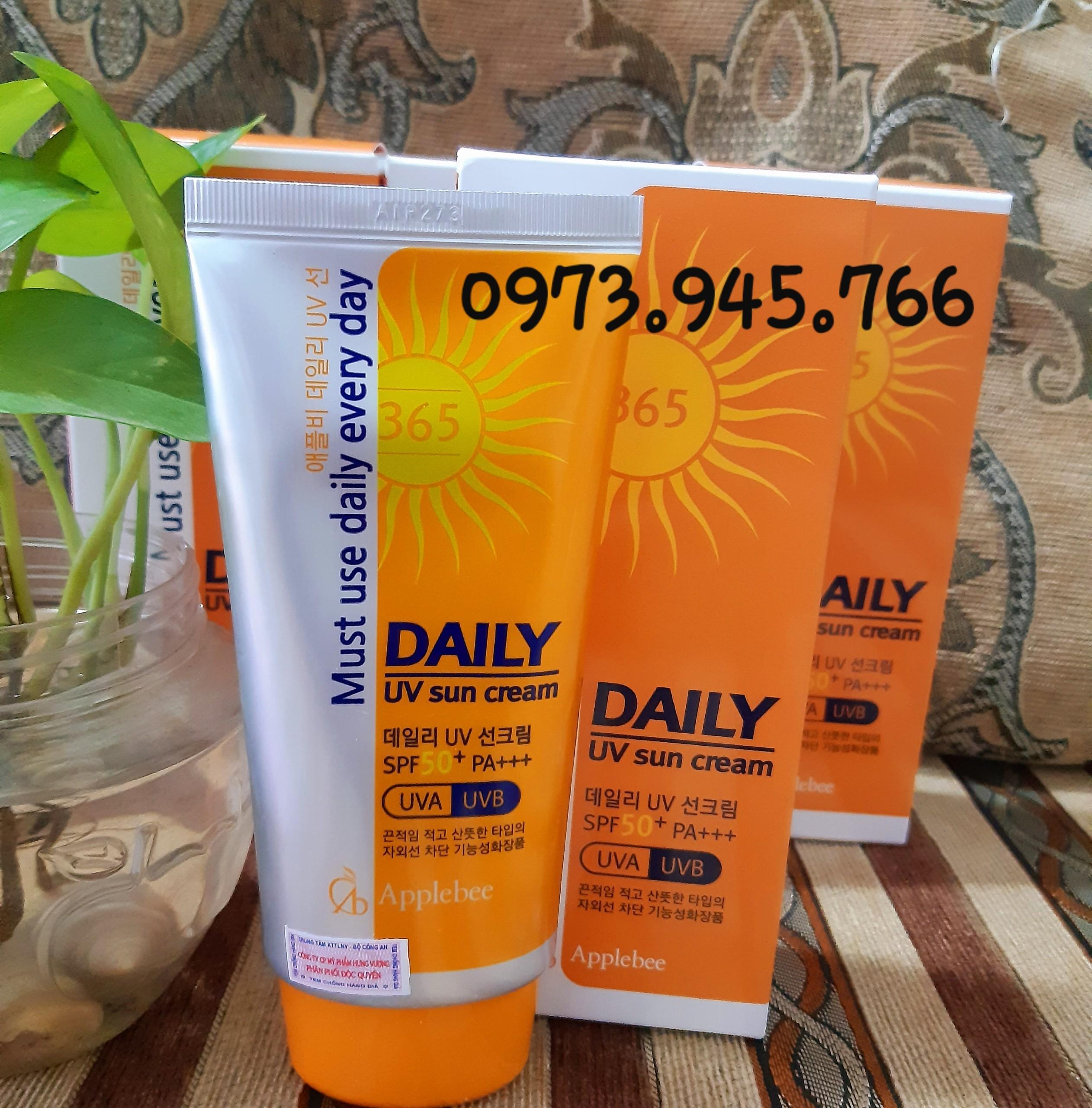 Kem chống nắng Daily SPF 50+