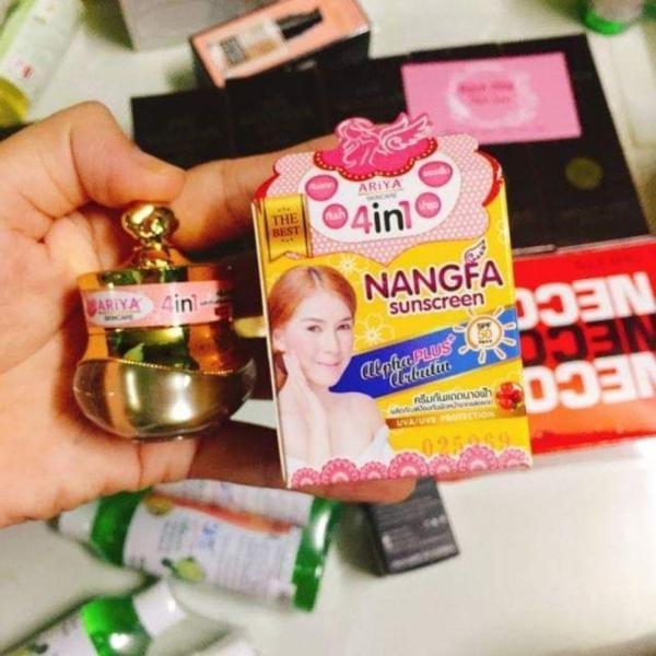 Kem chống nắng makup Nangfa Thái Lan