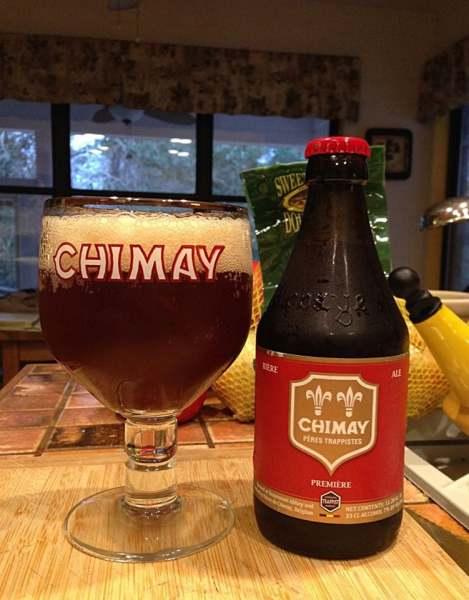 Bia Bỉ Chimay Đỏ