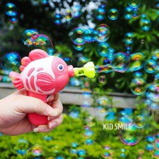 Siêu phẩm đồ chơi trẻ em thổi bong bóng xà phòng hình cá siêu dễ thương cho bé từ 1 tuổi trở lên thumbnail