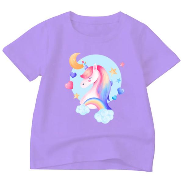 Áo Thun bé gái in hình vải polly cotton dày mịn in hình ATBT83 sản phẩm của gian hàng Thời Trang ELSA