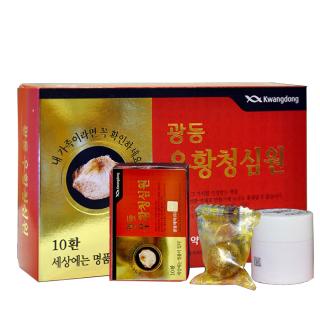 An cung ngưu hoàng hoàn Kwangdong cao cấp Hàn Quốc hộp 10 viên thumbnail