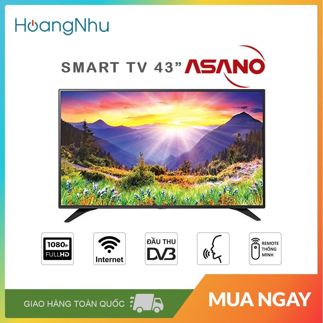 Bảng giá Smart Voice TV Asano 43 inch 43EK7 (Full HD, Android 7.1.1, Wifi, Điều khiển giọng nói, Bluetooth, Truyền hình KTS) - Bảo hành toàn quốc 2 năm