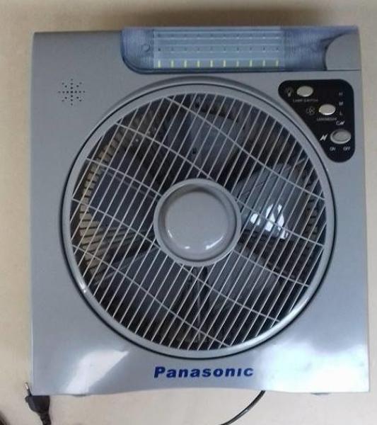 Quạt tích điện Panasonic 6969 siêu bền, quat sạc gọn, quạt tích điện