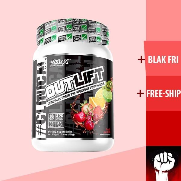 Nutrex Outlift 20 Lần Dùng Preworkout - Tăng Sức Mạnh - Chính Hãng - Muscle Fitness cao cấp