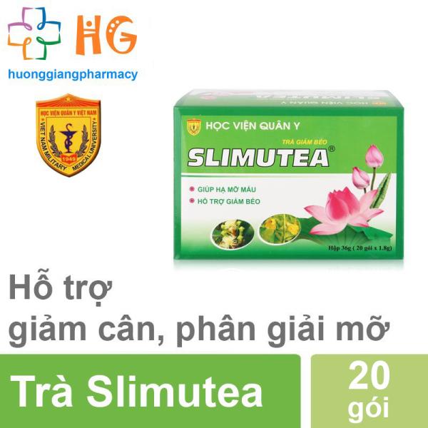 Trà giảm cân Slimutea HVQY (Hộp 20 gói)