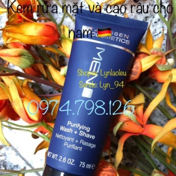 🌺 Kem Rửa Mặt Và Cạo Râu Cho Nam JANSSEN COSMETICS PURIFYING WASH + SHAVE 75ML