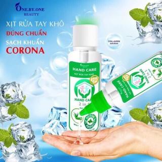 Gel Rửa Tay Khô Hand Care ( Tặng Kèm Khẩu Trang Vải ) thumbnail