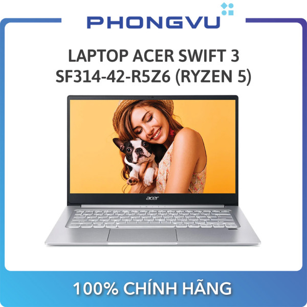 Bảng giá [Trả góp 0%]Laptop Acer Swift 3 SF314-42-R5Z6 (NX.HSESV.001) (14 FHD/R5 4500U/8GB/512GB SSD/AMD Radeon/Win10/1.2kg) - Bảo hành 12 tháng - Số lượng quà có hạn, áp dụng hết 31/10 Phong Vũ