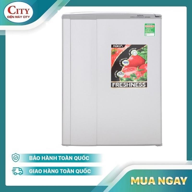 Tủ lạnh Aqua 90 lít AQR-95ER (SS) Xám