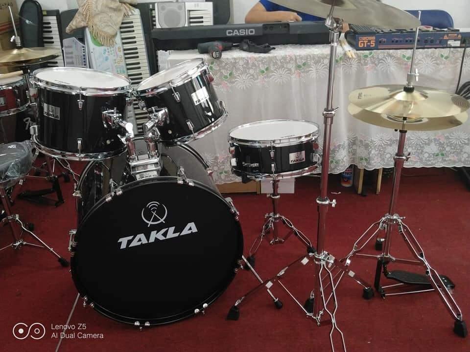 Ưu Đãi Khuyến Mại Khi Mua Trống Jazz Nguyên Set Takla