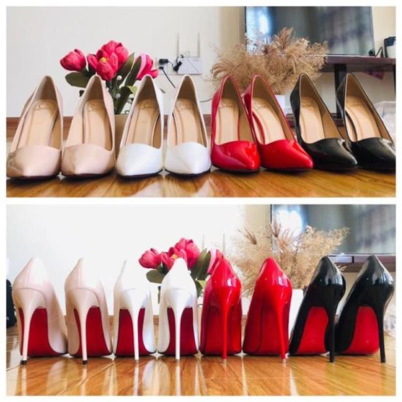 Giày Cao Gót 11P - VNXK Cao Cấp - 5 Màu full size 34-40 giá rẻ