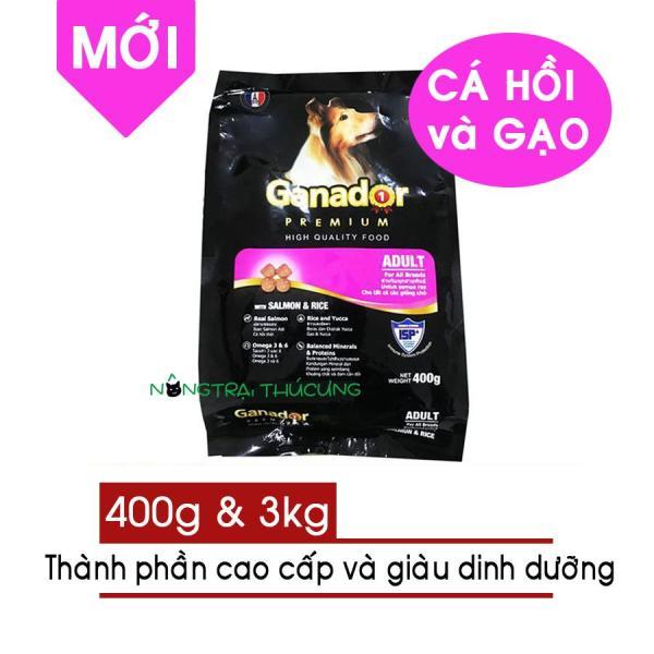 [Sản Phẩm Mới] Thức ăn hạt cho chó lớn GANADOR Cá Hồi & Gạo (Salmon & Rice) - [Nông Trại Thú Cưng]