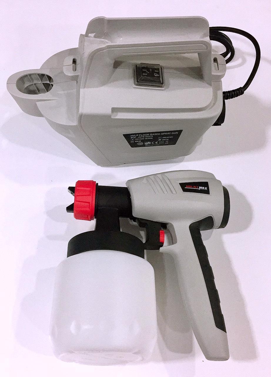 Máy Thổi Sơn Hơi Mini Joustmax 800W Thổi Sơn Dâu Sơn Nước Tổi Bóng Cầu Thang Các Vật Dụng Khác Đẹp Mịn Đi Công Trình Tiện Lợi
